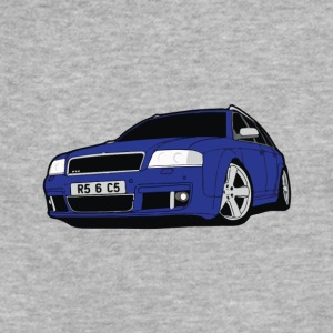 Audi avant detail grande - Fitted Cotton/Poly T-Shirt by Next Level