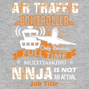 Air Traffic Controller Job Title Shirt - Fitted Cotton/Poly T-Shirt by Next Level