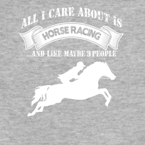 Horse Racing - Fitted Cotton/Poly T-Shirt by Next Level