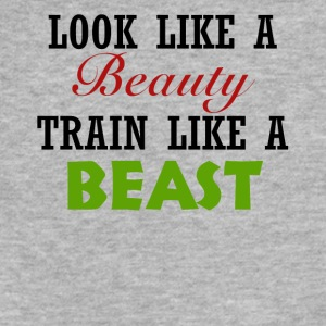 Beauty Beast - Fitted Cotton/Poly T-Shirt by Next Level