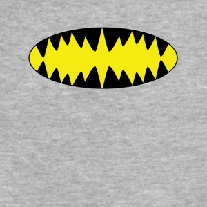 Bat Man Teeth - Fitted Cotton/Poly T-Shirt by Next Level
