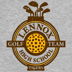 Lennox Golf Team High School Tigers - Fitted Cotton/Poly T-Shirt by Next Level