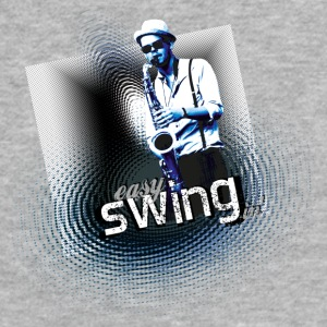 swing03 - Fitted Cotton/Poly T-Shirt by Next Level