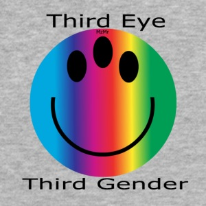 Third Eye, Third Gender - Fitted Cotton/Poly T-Shirt by Next Level