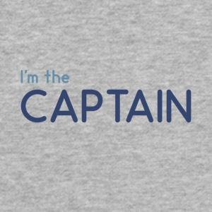 I m the Captain - Fitted Cotton/Poly T-Shirt by Next Level