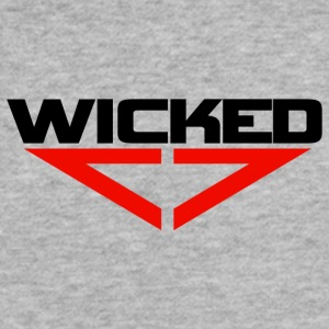 Wicked red - Fitted Cotton/Poly T-Shirt by Next Level