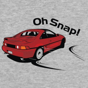 MR2 Oh Snap! - Fitted Cotton/Poly T-Shirt by Next Level