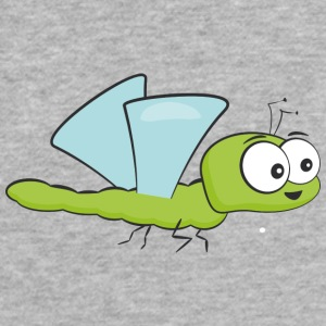 Funny Insect Bee Flying - Fitted Cotton/Poly T-Shirt by Next Level
