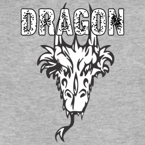 dragon_head_with_horns - Fitted Cotton/Poly T-Shirt by Next Level