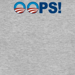 Oops! - Fitted Cotton/Poly T-Shirt by Next Level