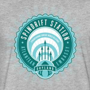 Spindrift Station - Fitted Cotton/Poly T-Shirt by Next Level