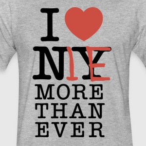 I love Me - Fitted Cotton/Poly T-Shirt by Next Level