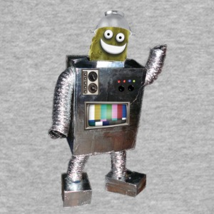 Pickle Robot - Fitted Cotton/Poly T-Shirt by Next Level