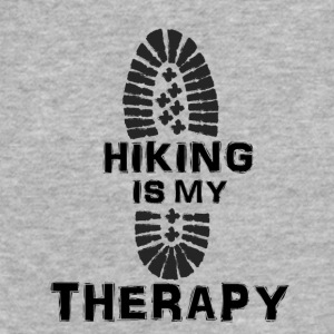 Hiking Is My Therapy - Fitted Cotton/Poly T-Shirt by Next Level