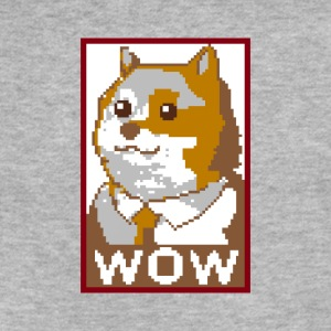 President Doge - Fitted Cotton/Poly T-Shirt by Next Level