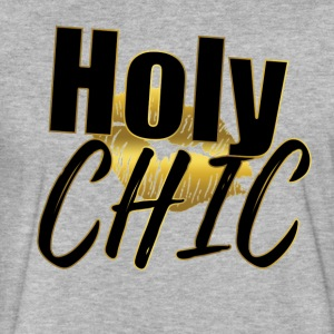 Holy Chic - Fitted Cotton/Poly T-Shirt by Next Level