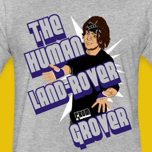 Human Land-Rover From Grover Shirt - Fitted Cotton/Poly T-Shirt by Next Level