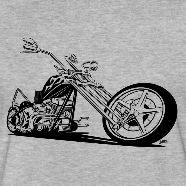 Custom American Chopper Motorcycle