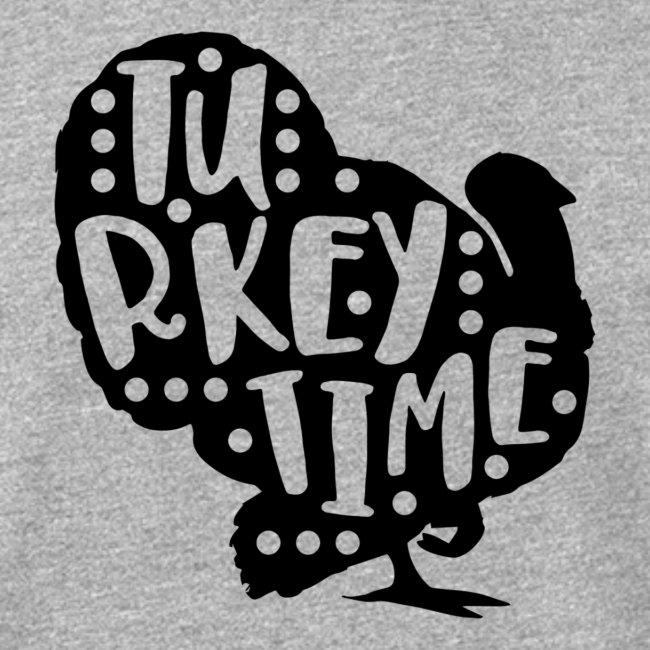 Turkey Time Thanksgiving Design