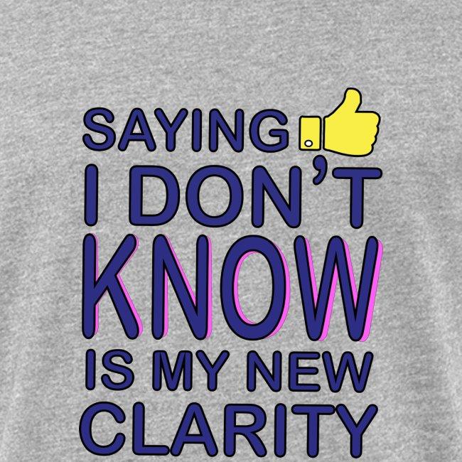 new clarity
