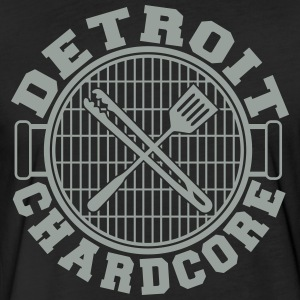Detroit Chardcore - Fitted Cotton/Poly T-Shirt by Next Level