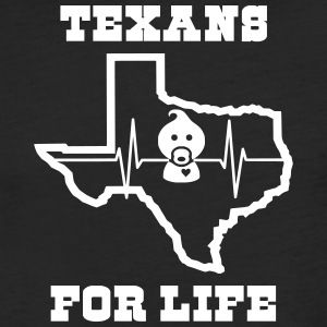 March for Life: Texans Pro Life Apparel - Fitted Cotton/Poly T-Shirt by Next Level