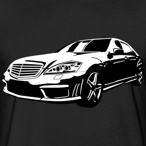 car - Fitted Cotton/Poly T-Shirt by Next Level