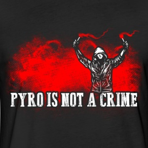 ACAB Pyro is not a crime - Fitted Cotton/Poly T-Shirt by Next Level