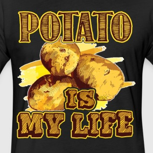 Potato Is My Life Shirts - Fitted Cotton/Poly T-Shirt by Next Level