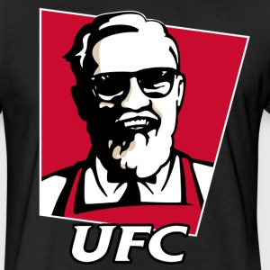 UFC mcgregor KFC Funny - Fitted Cotton/Poly T-Shirt by Next Level