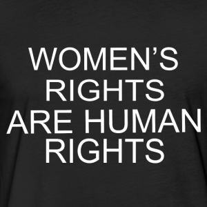 Women s Rights Are Human Rights - Fitted Cotton/Poly T-Shirt by Next Level