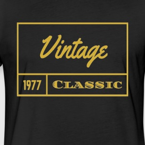 1977 Vintage Classic - Fitted Cotton/Poly T-Shirt by Next Level