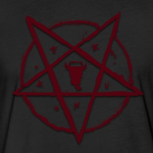 Summon the Drunk Satan - Fitted Cotton/Poly T-Shirt by Next Level