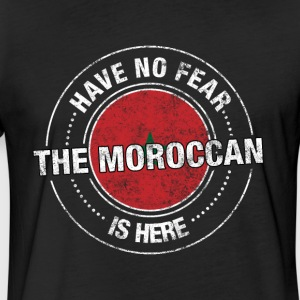 Have No Fear The Moroccan Is Here Shirt - Fitted Cotton/Poly T-Shirt by Next Level