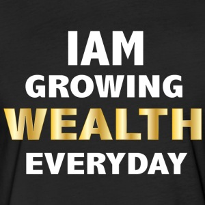 YELLOW GOLD WEALTH T-SHIRT - Fitted Cotton/Poly T-Shirt by Next Level