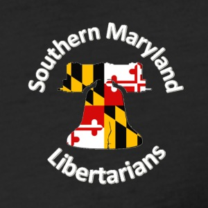 Southern Maryland Libertarians Swag - Fitted Cotton/Poly T-Shirt by Next Level