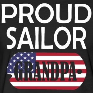Proud Sailor Grandpa - Fitted Cotton/Poly T-Shirt by Next Level