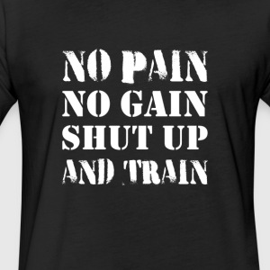 Motivational Gym Graphic T shirt and Collection - Fitted Cotton/Poly T-Shirt by Next Level