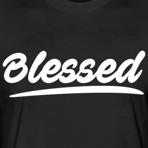 Blessed Logo - Fitted Cotton/Poly T-Shirt by Next Level