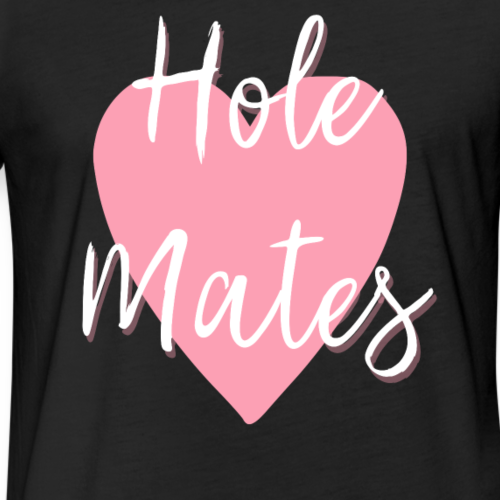 Soul Mates - Fitted Cotton/Poly T-Shirt by Next Level