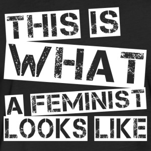 Feminist - Fitted Cotton/Poly T-Shirt by Next Level