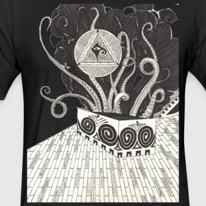 Pandora's Utopia - Fitted Cotton/Poly T-Shirt by Next Level