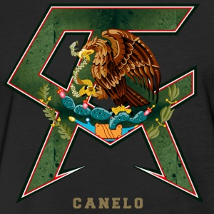 Canelo Alvarez Logo - Fitted Cotton/Poly T-Shirt by Next Level