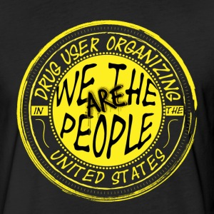 We Are The People Seal - Fitted Cotton/Poly T-Shirt by Next Level