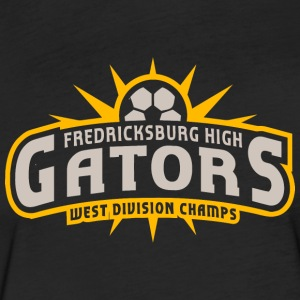 Fredricksburg High Gators West Division Champs - Fitted Cotton/Poly T-Shirt by Next Level