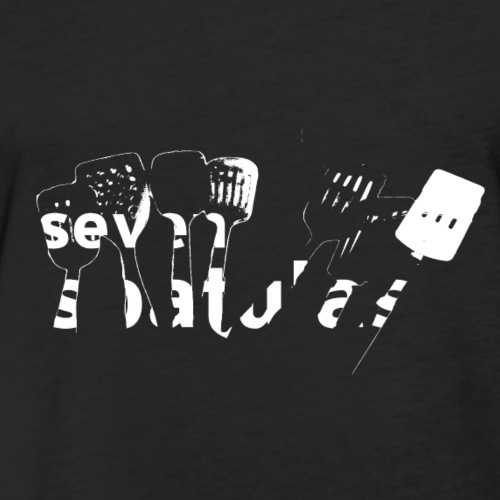 seven spatulas - Fitted Cotton/Poly T-Shirt by Next Level