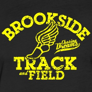 Brookside Track and Field - Fitted Cotton/Poly T-Shirt by Next Level
