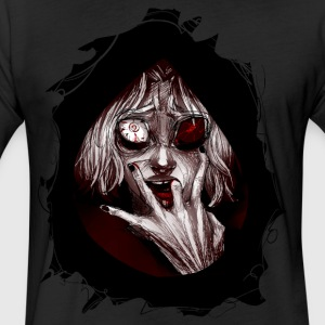 Tokyo Ghoul - Fitted Cotton/Poly T-Shirt by Next Level