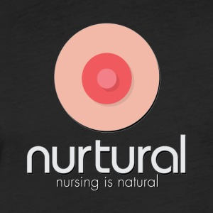 Nurtural | Nursing is Natural - Fitted Cotton/Poly T-Shirt by Next Level