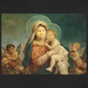 MAdonna and St. Steven - Fitted Cotton/Poly T-Shirt by Next Level